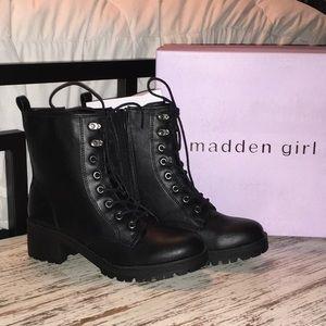 NIB Black ELOISEE Madden Girl Boots